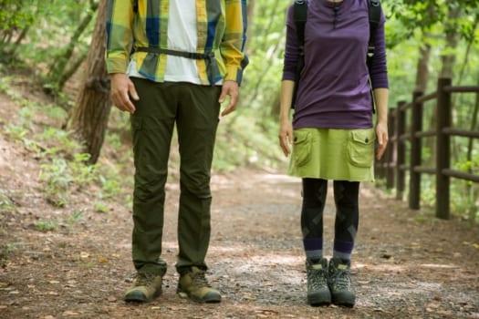 屋外で過ごす場合は適した服装を選ぶこと