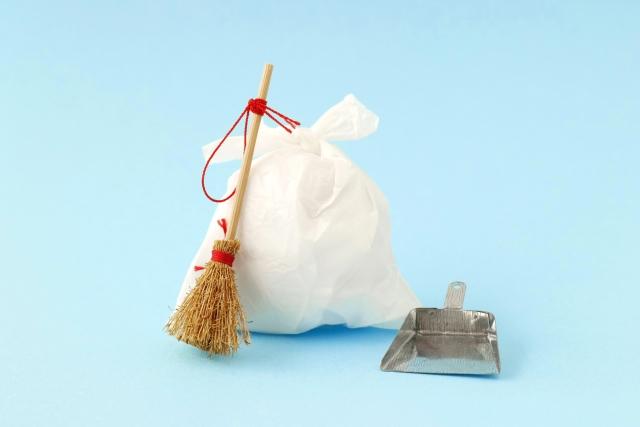 【1】ゴミはきちんと片づける