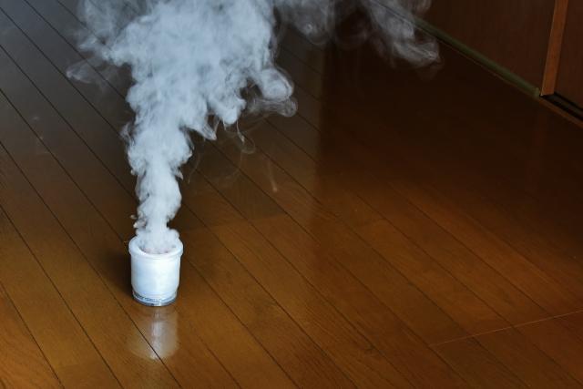 くん煙剤で駆除する